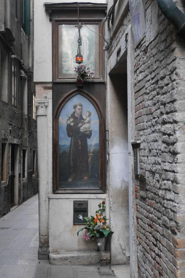 Shrine, Venice, Italy