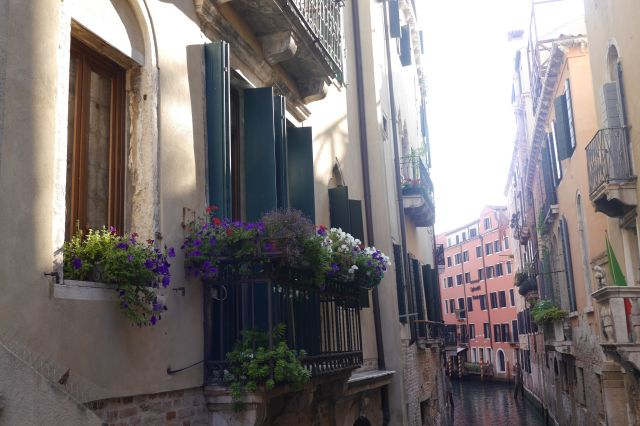 A New Day in Venice, Italy