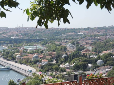 Views from Pierre Loti, Istanbul, Turkey