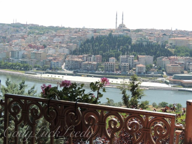 A View from Pierre Loti, Istanbul, Turkey