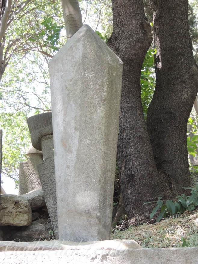 The Soldier Marker, Eyüp Cemetery, Istanbul, Turkey