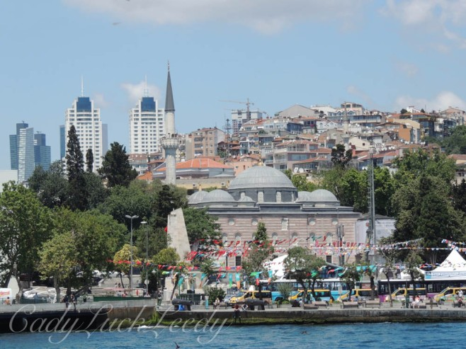 A Glimpse of the Old and New, Istanbul, Turkey