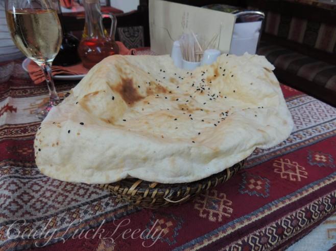The Bread! Hatay Restaurant, Istanbul, Turkey
