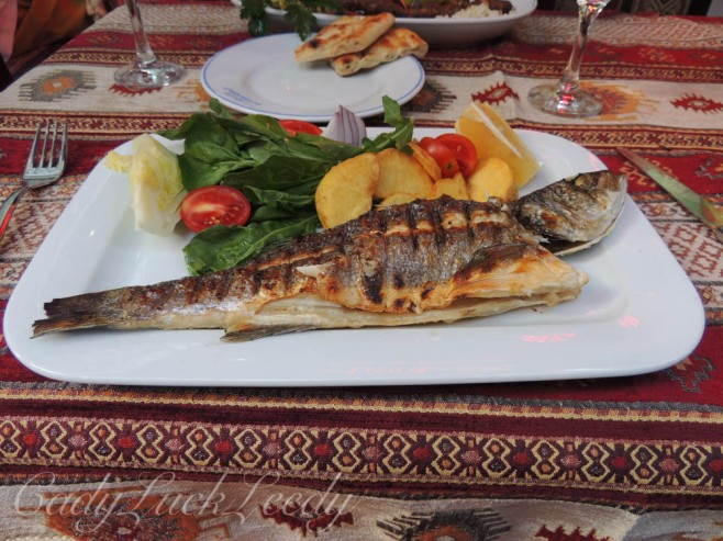 The Food! Hatay Restaurant, Istanbul, Turkey
