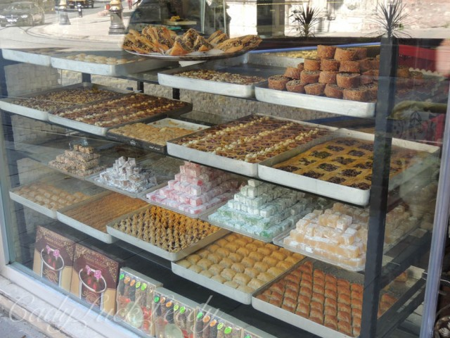 Walk Past the Turkish Delight Store, Istanbul, Turkey