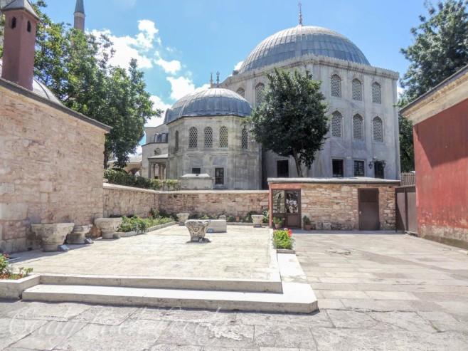 Courtyard, Hagia Sophia, Istanbul, Turkey