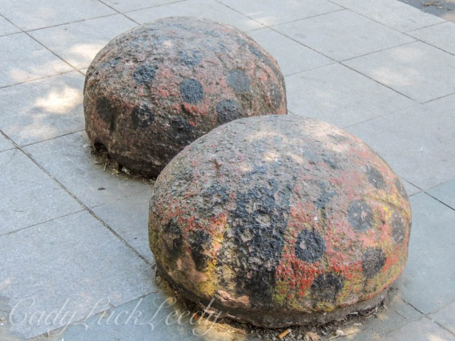 Toad Stools at Bus Stops, Istanbul, Turkey