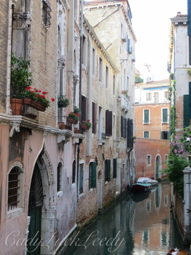 One Last Look at the Canals of Venice