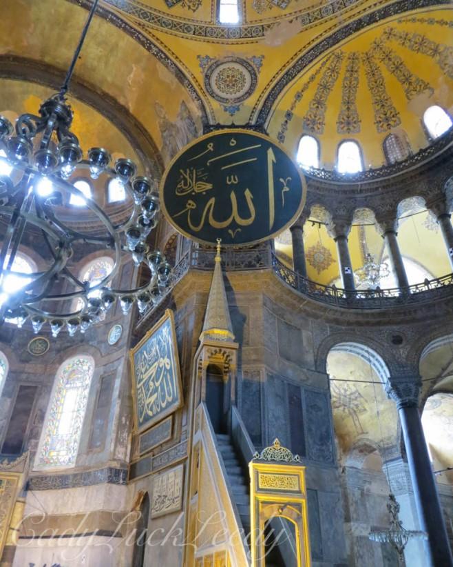 s in Hagia Sophia, Istanbul, Turkey