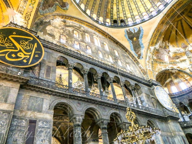One of Two Winged Seraphims, Hagia Sophia, Istanbul, Turkey