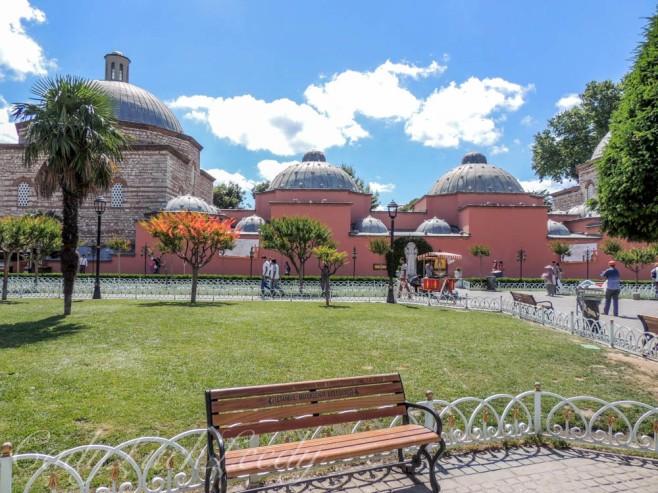 Sultanehmet Park, Istanbul, Turkey