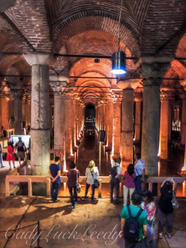 Underground Cistern, Istanbul, Turkey