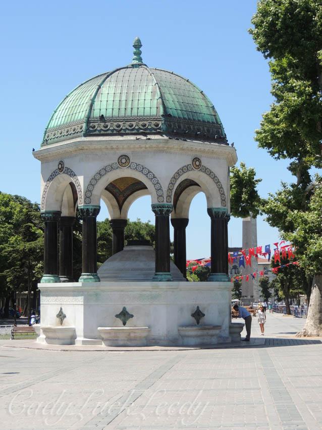 The German Fountain, Istanbul, Turkey