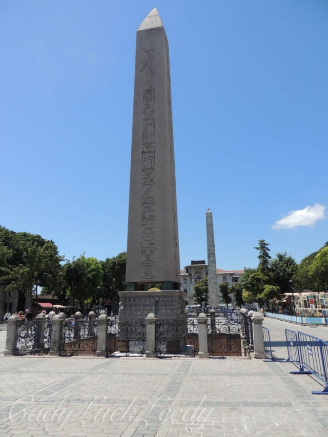 The Egyptian Obelisk, Istanbul, Turkey