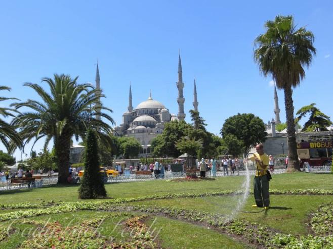 Sultanahmet Park, Istanbul, Turkey