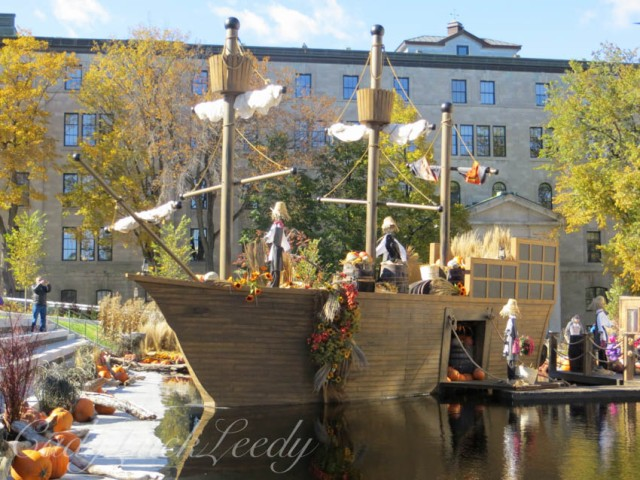 The Harvest Ship Is Ready to Load!, Quebec City, Canada