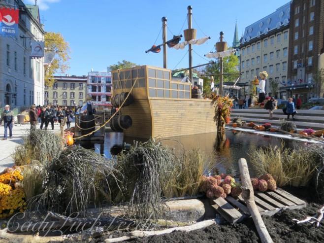 The Harvest Ship, Quebec City, Canada