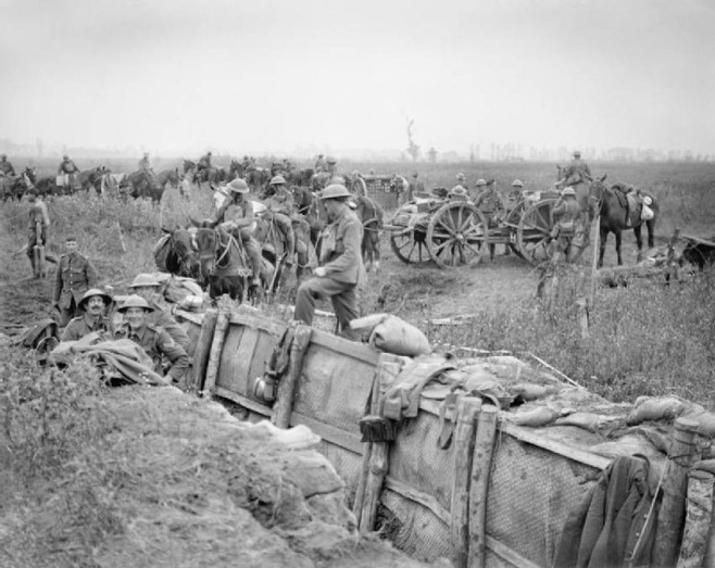 Trenches in Flanders Fields 31July1917