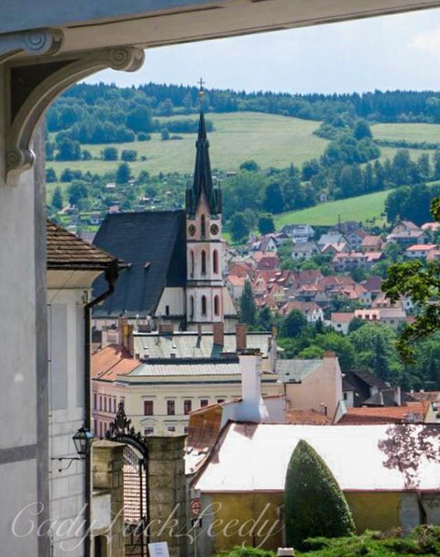 Cesky Krumlov, the Czech Republic