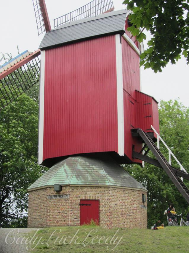 Old Windmill, Bruges, Belgium