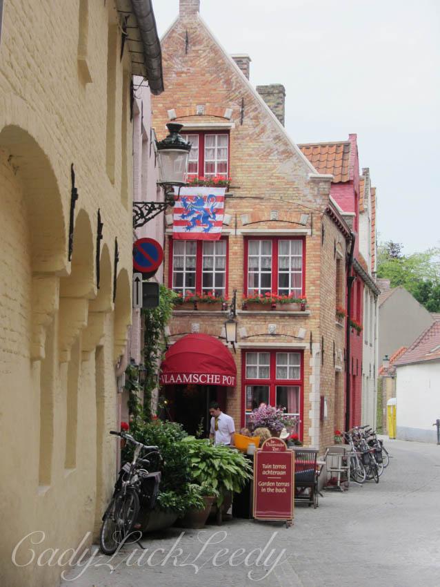 Vlaamsche Pot Restaurant, Bruges, Belgium