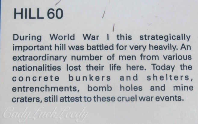 Hill 60, Flanders Fields