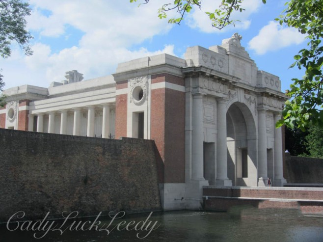 The Menin Gate Memorial, Ypres, Belgium