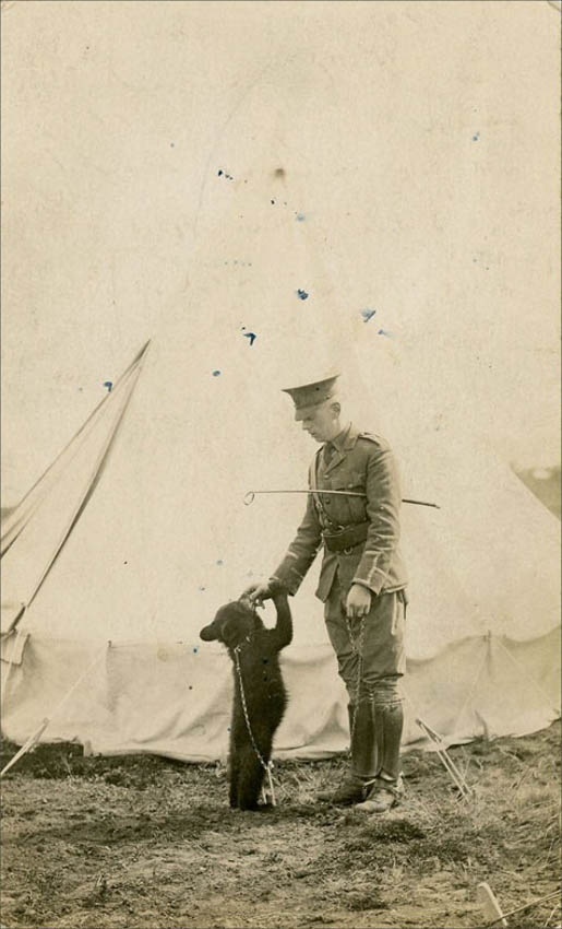 Harry With Winnie, Picture Courtesy Colbourn Collection