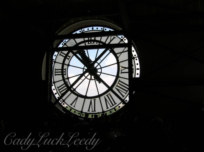 Behind the Clock, D'Orsay Museum, Paris, France