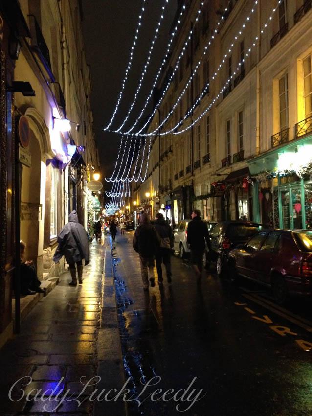 Twinkle, Twinkle, Paris at Christmas