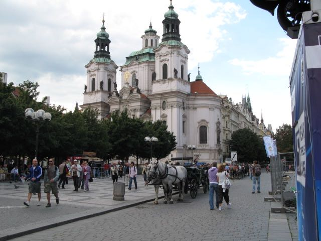 St Nicholas Church, Prague, the Czech Republic