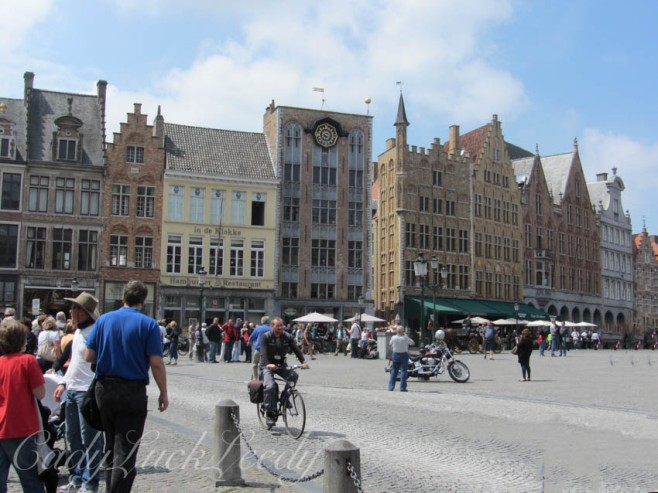 Town Square, Brugge, Belgium