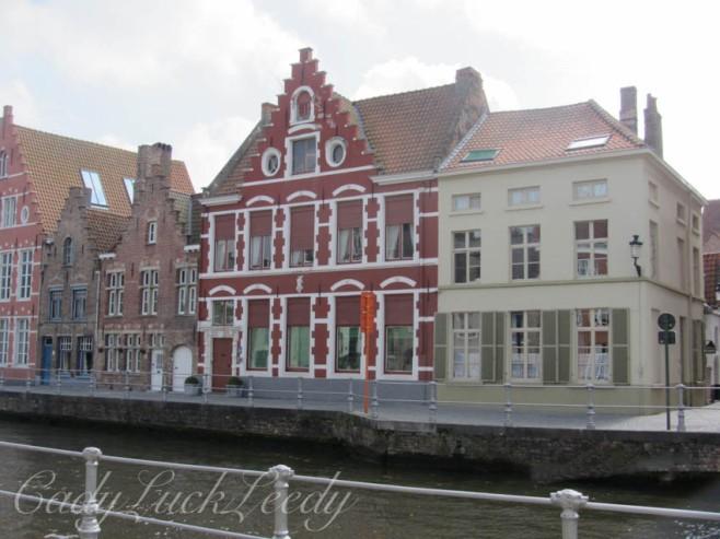 Canal Walk of Brugge, Belgium