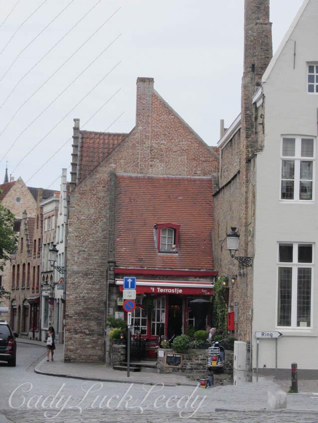 Cafe Terrastje, Brugge, Belgium