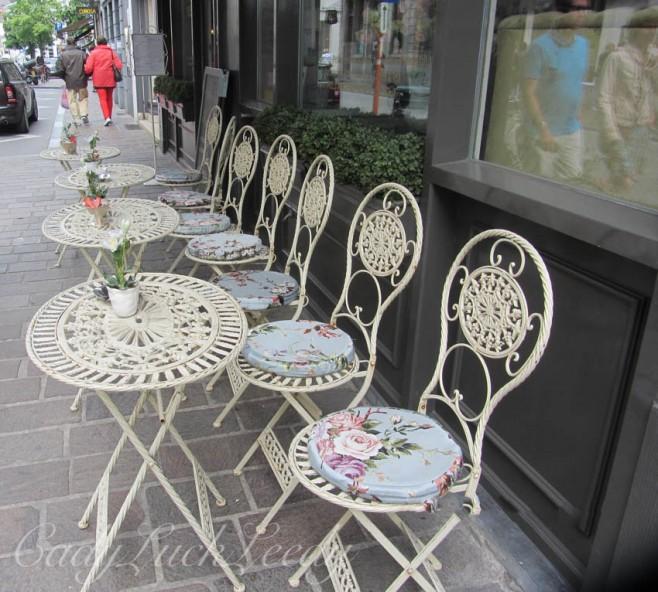 The Sidewalk Cafe, Brugge, Belgium