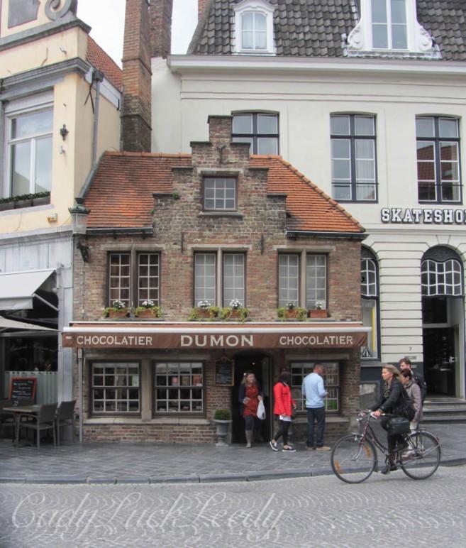 Dumons Chocolate Shop, Brugge, Belgium
