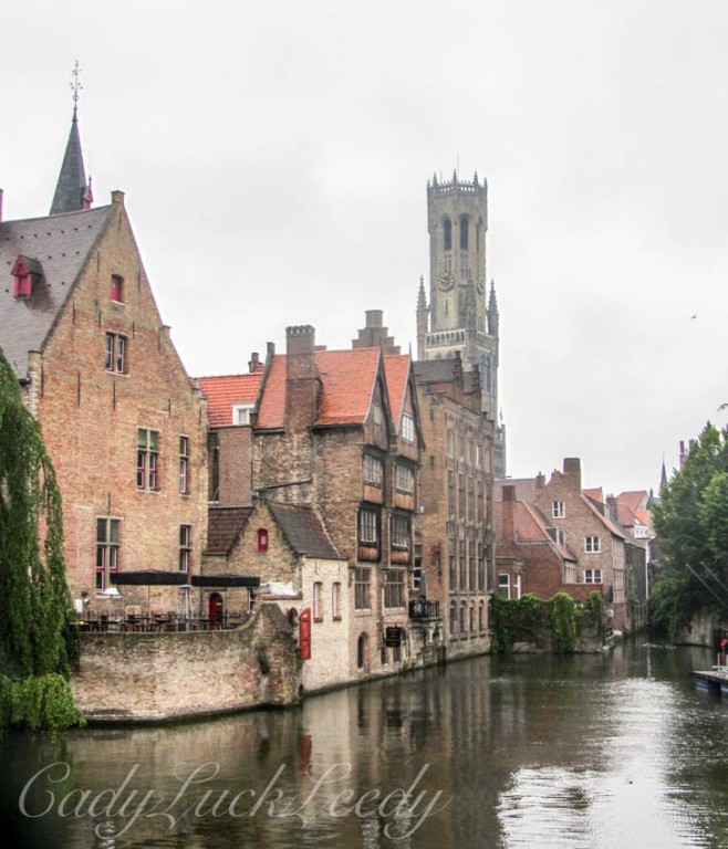 Along the Canal, Brugge, Belgium