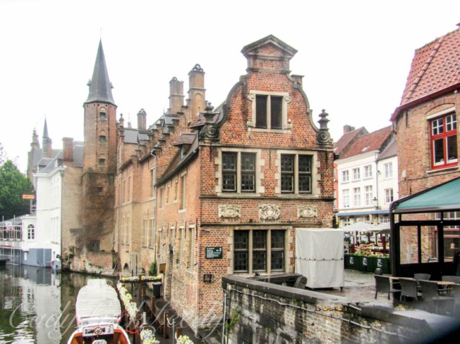 Crow Stepped Gabled House, Brugge, Belgium