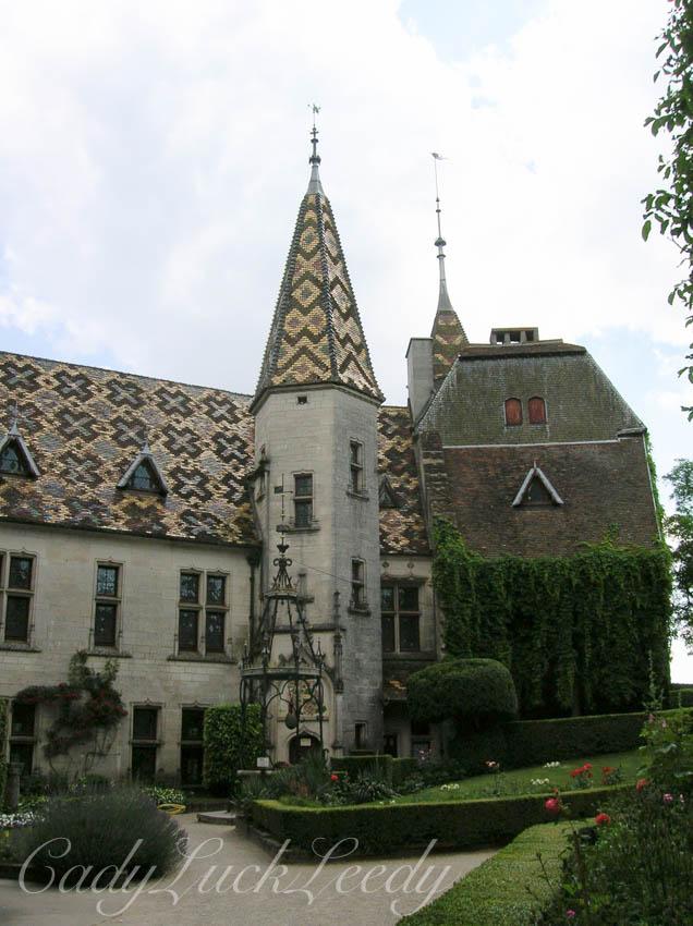 Chateau de la Rochepot, Near Beaune, France