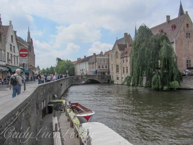 Our Daily Walk Along the Canal, Brugge, Belgium