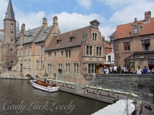Our Morning Stroll Along the Canals, Brugge, Belgium
