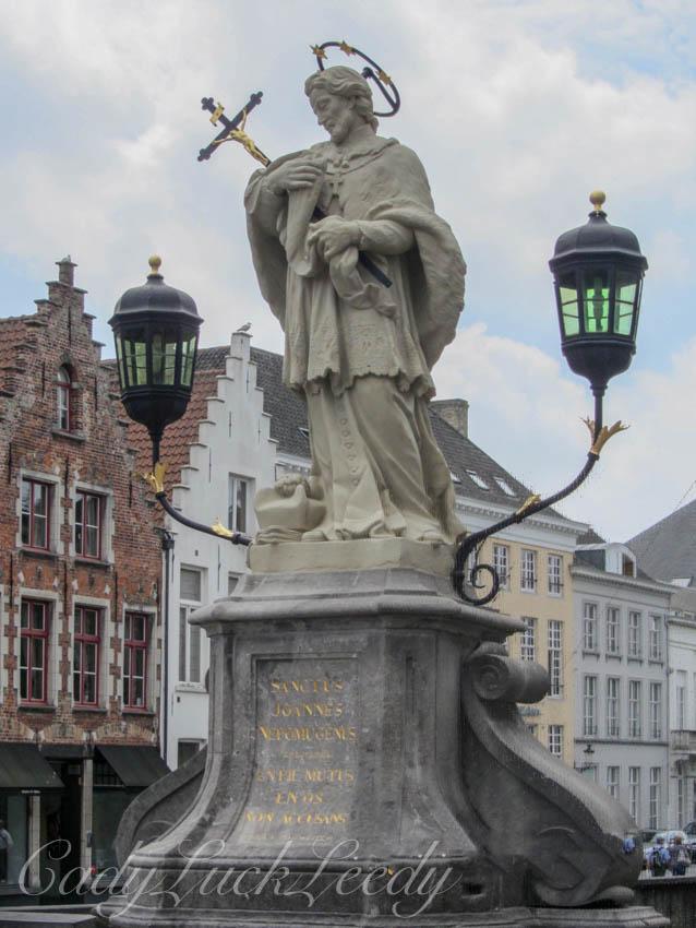 The Artwork in Brugge, Belgium