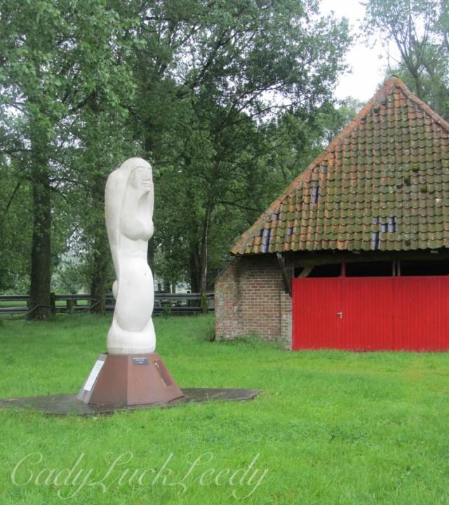 Artwork at Ter Doest, Belgium