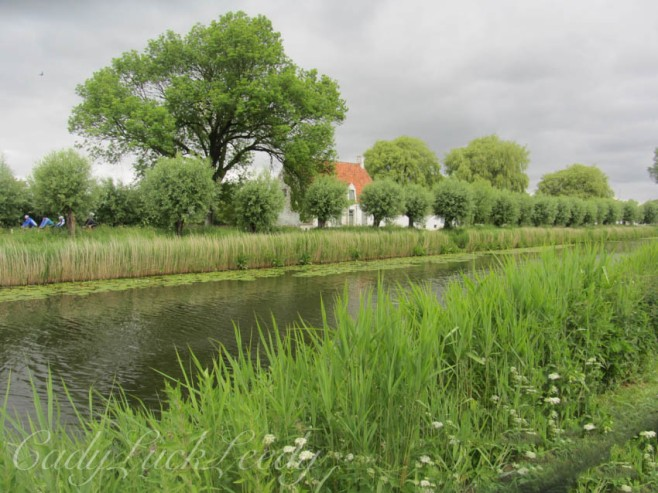 Picure Perfect Along the Canal in Damme, Belgium