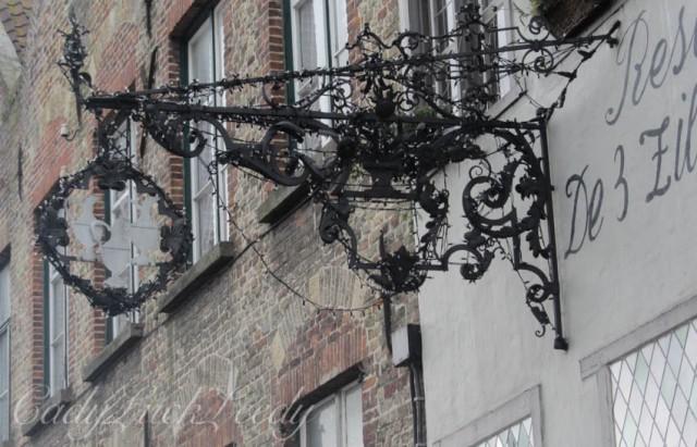 Wrought Iron Sculptured Art in Domme, Belgium