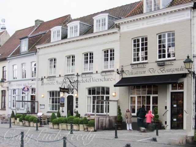 The Village of Damme, Belgium