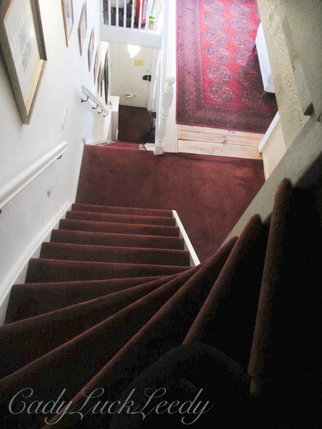 Stairs in B&B, Amsterdam, the Netherlands