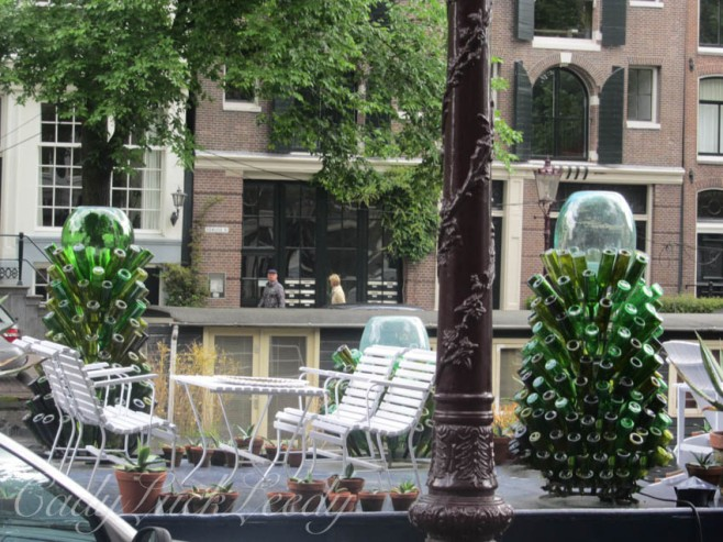 A Restaurant Along the Canals, Amsterdam, the Netherlands