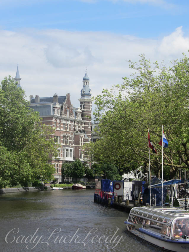 Along Another Canal, Amsterdam!