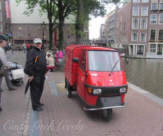 The Red Truck, Amsterdam